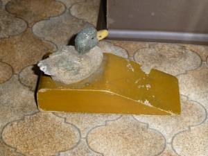 Diese Ente stoppt jede Tür