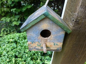 kein Wohnung für Vögel - nur Zierde!